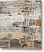 Old Painted Wood Abstract No.1 Metal Print by Elena Elisseeva