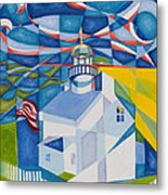 Old Point Loma Metal Print by Joseph Edward Allen