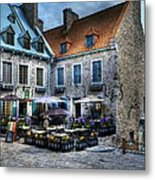 Old Quebec City Metal Print by Mel Steinhauer