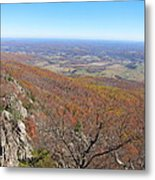 Old Rag Hiking Trail - 121234 Metal Print by DC Photographer