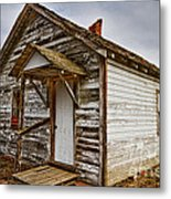 Old Rustic Rural Country Farm House Metal Print by James BO  Insogna