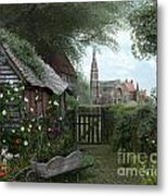 Old Shed Metal Print by Dominic Davison