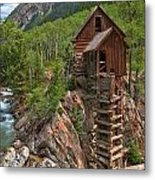Old Time Colorado Metal Print by Adam Jewell