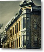 Old Town Fort Collins Metal Print by Julieanna D