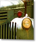 Old Truck Abstract Metal Print by Ben and Raisa Gertsberg