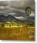 Old Windmill Metal Print by Robert Bales