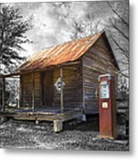 Olden Days Metal Print by Debra and Dave Vanderlaan