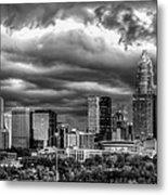 Ominous Charlotte Sky Metal Print by Chris Austin