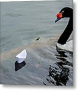 On Converging Course - Featured 3 Metal Print by Alexander Senin