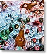 On Ice Metal Print by Lana Trussell