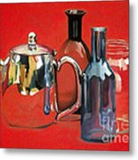 On Reflection Metal Print by Gary Stamp