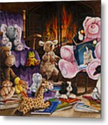 On The Night You Were Born Metal Print by Cheryl Allen