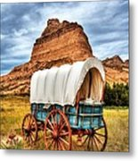 On The Oregon Trail 3 Metal Print by Mel Steinhauer
