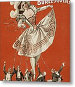 On The String Metal Print by Aged Pixel