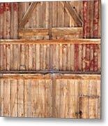 Once Red Doors Metal Print by Margie Hurwich