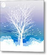 Once Upon A Moon Lit Night... Metal Print by Holly Kempe