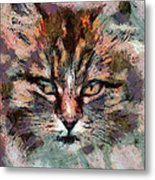One More Cat Metal Print by Yury Malkov