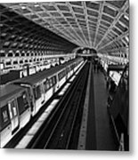 One Point Perspective Metal Print by Lynn Palmer