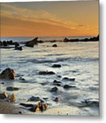 Orange At Sunset Metal Print by Guido Montanes Castillo