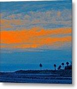 Orange Sunset Metal Print by Ben and Raisa Gertsberg