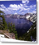 Oregon Crater Lake  Metal Print by Anonymous