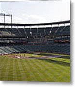 Oriole Park At Camden Yards Metal Print by Darleen Stry