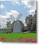 Orleans Windmill Metal Print by Barbara McDevitt