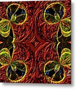 Ornamentals Metal Print by Janet Russell