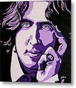 Oscar Wilde Metal Print by Rebecca Mott