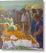 Otara Market. Auckland Nz. Metal Print by Terry Perham