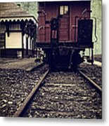 Other Side Of The Tracks Metal Print by Edward Fielding