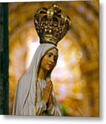 Our Lady Of Fatima Metal Print by Gaspar Avila