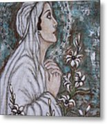 Our Lady Of Mental Peace Metal Print by Rain Ririn