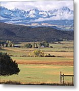 Ouray County Metal Print by Eric Glaser