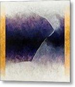 Ouroboros Three Blue, 2010 Metal Print by Mathew Clum