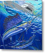 Out Of Sight Metal Print by Carey Chen