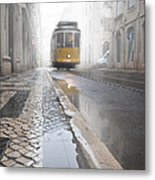 Out Of The Haze Metal Print by Jorge Maia