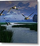 Out Of The Storm Metal Print by Dieter Carlton