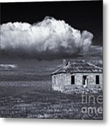 Outback Ruin Metal Print by Mike  Dawson