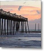 Outer Banks Sunrise Metal Print by Adam Romanowicz