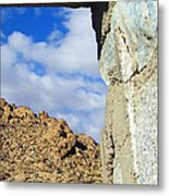 Outside Looking Inside Out Metal Print by Glenn McCarthy Art and Photography