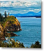 Overlooking Metal Print by Robert Bales