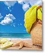 Overlooking The Ocean Metal Print by Amanda And Christopher Elwell