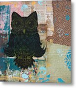 Owl Of Wisdom Metal Print by Kyle Wood