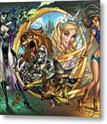 Oz 01a Metal Print by Zenescope Entertainment