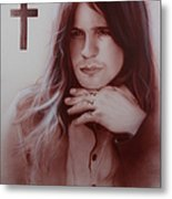 'ozzy Osbourne' Metal Print by Christian Chapman Art