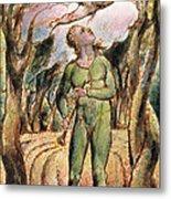P.125-1950.pt2 Frontispiece Plate 2 Metal Print by William Blake