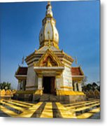 Pa Dong Wai Temple  Metal Print by Adrian Evans