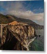 Pacific Coastal Highway Metal Print by Mike Reid