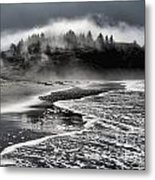 Pacific Island Fog Metal Print by Adam Jewell